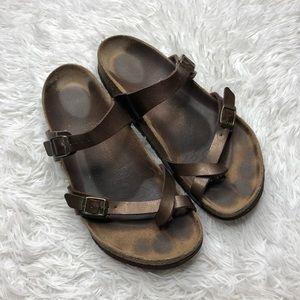 Birkenstock Mayari Bronze Sandals